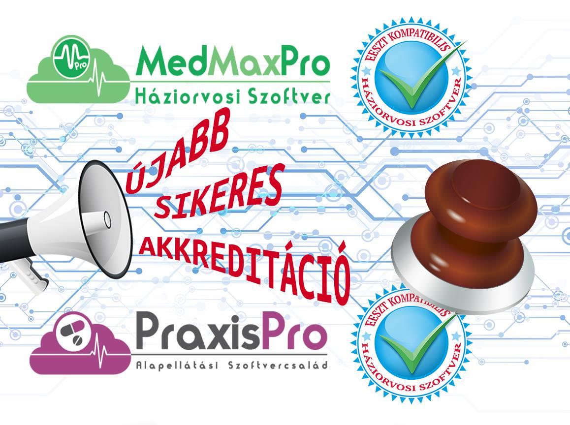 A Praxis Pro háziorvosi szoftver is felkerült az EESZT-hez csatlakozni képes háziorvosi rendszerek listájára