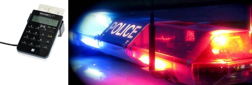 A Készenléti Rendőrség keresi fel a háziorvosokat a tartalék kártyaolvasók kiszállítása miatt