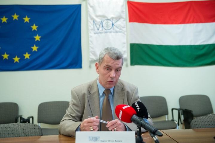 Elbukott az orvosi kamara tagdíjemelési terve Fotó: Tóth Gergő