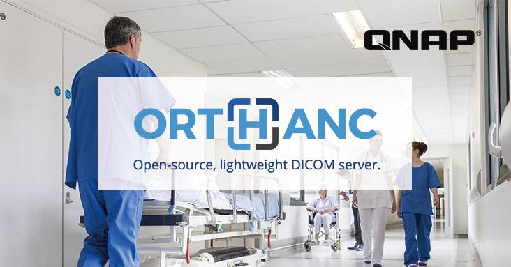 A QNAP bemutatja az Orthanc DICOM szerver applikációt a QNAP NAS-hoz